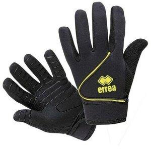 Errea Handschoen Steel - Zwart/Lemon